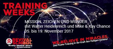Training Week Mission Zeichen Wunder