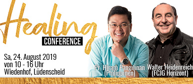 Healing Conference Web Event Banner