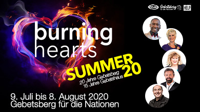 Burning Hearts Summer 20 Eventgrafik