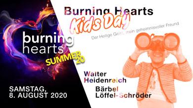 BURNING HEARTS Kids Day Web