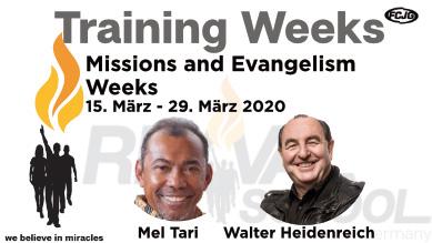 Mission Week eventkalender