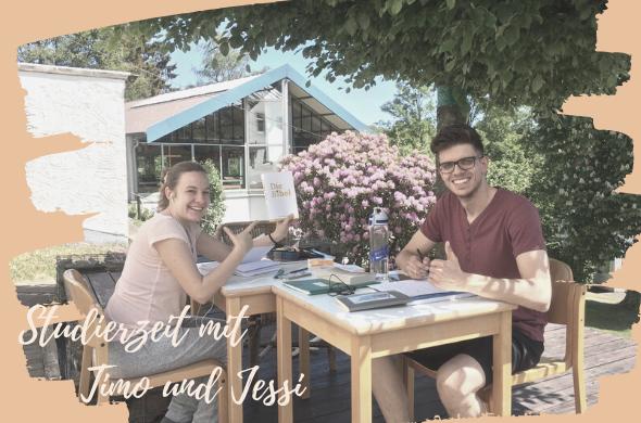 Studierzeit mit Timo und Jessi