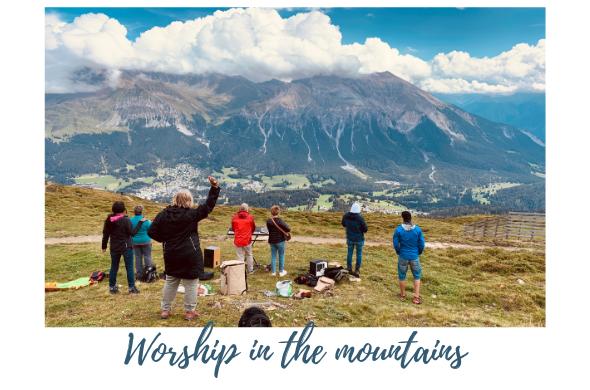 Kopie von Anbetung auf den Bergen