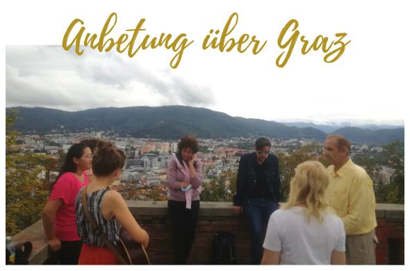 Anbetung über Graz