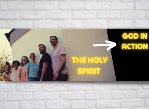 Holy Spirit, GOD in action.