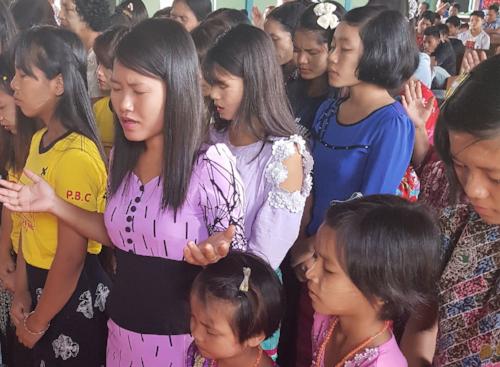 Gott liebt Myanmar