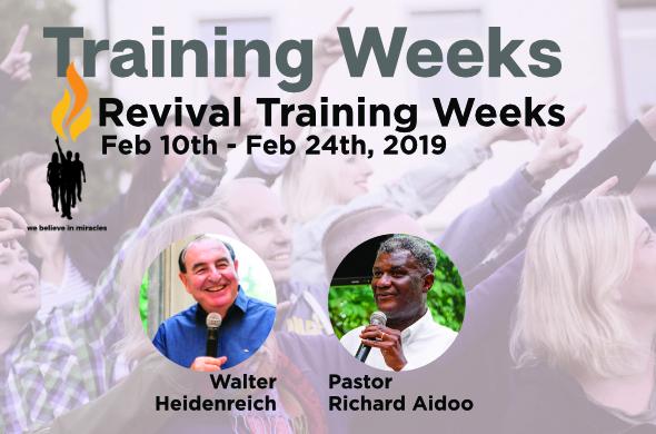 Revival Training weeks en
