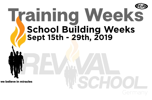 School Building Weeks en neu