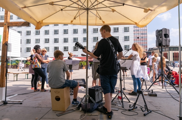 Kinderparty 23.0818 Band
