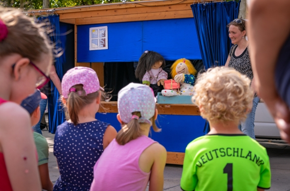 Kinderparty 23.0818 Puppentheater